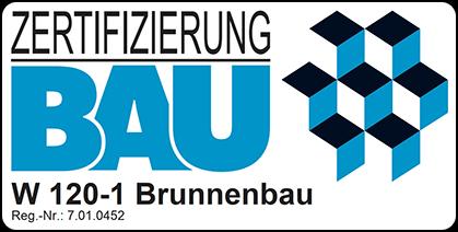Zertifizierung BAU W 120-1 Brunnenbau